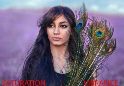 تفاوت Saturation و Vibrance چیست؟